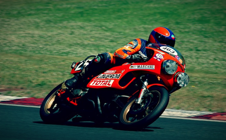#endurance style #motorcycles #Laverda