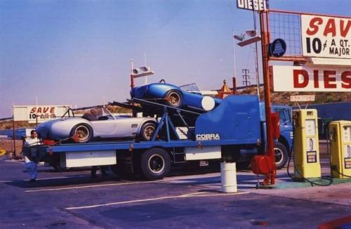 shelby Cobra Transporter