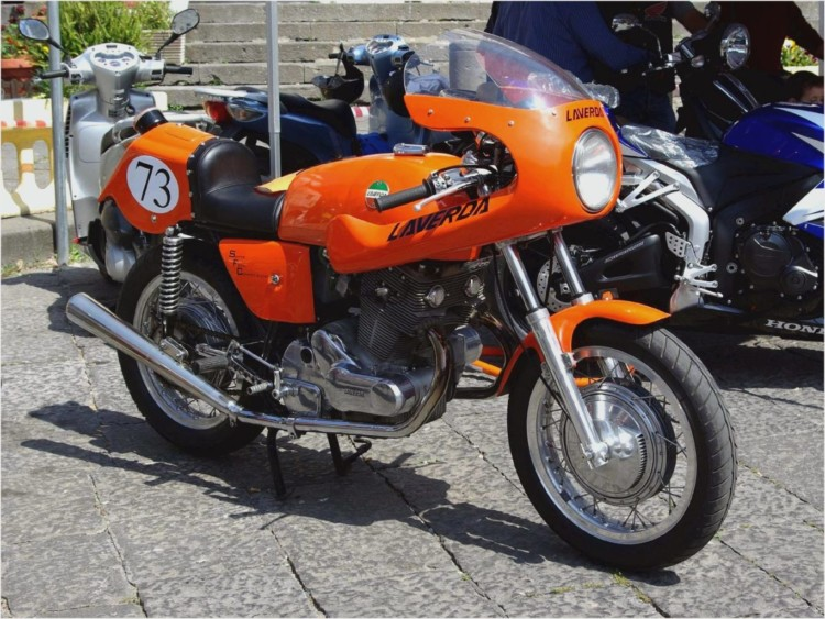 #endurance style #motorcycles #Laverda 750SFC