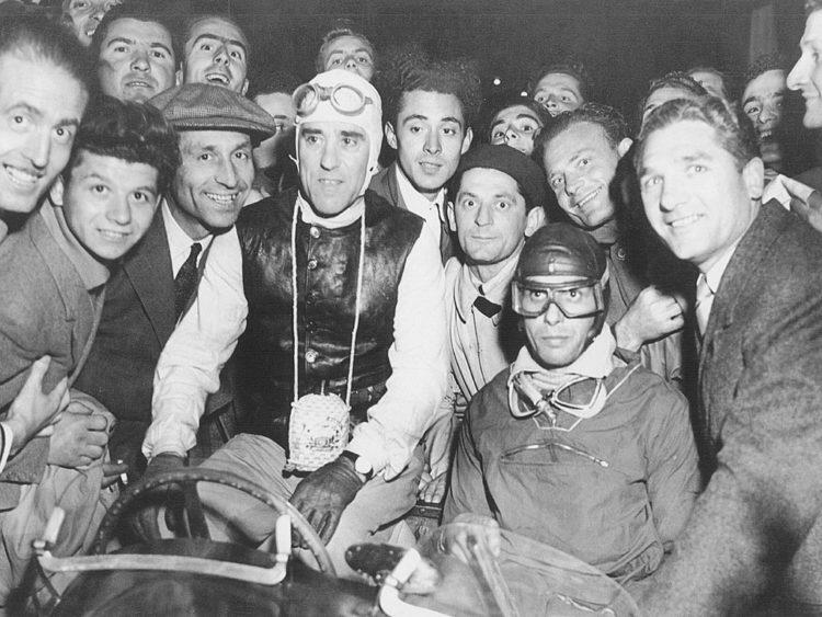 1948 mille miglia #ferrari